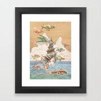 Sea dream Framed Art Print