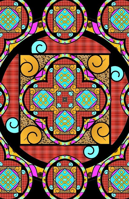 Best Blanket Mandala Art Print