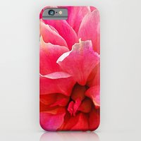 iPhone & iPod Case featuring 'PINK FLAMES' by Dwayne Brown