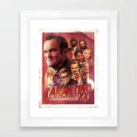 Tarantino Framed Art Print