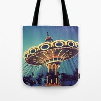Blue Hour At The Carniva… Tote Bag