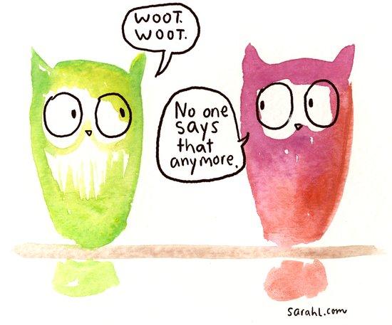 Woot Woot. Art Print