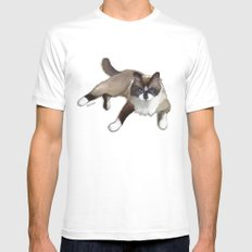 Ragdoll cat White Mens Fitted Tee SMALL