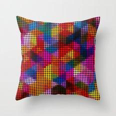 Triangles / Circles Throw Pillow