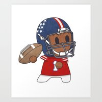 American Football II Art Print