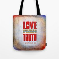 Love & Truth Tote Bag