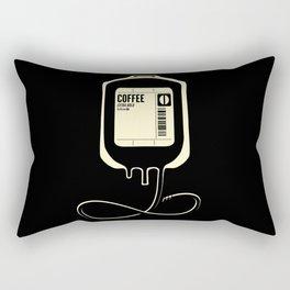 Rectangular Pillow - Coffee Transfusion - Black - Tobe Fonseca