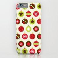 Christmas Baubles iPhone 6 Slim Case
