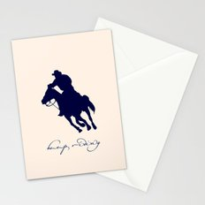 Cowboy Outlaw Stationery Cards