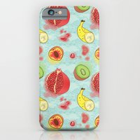 Fruit Cross-sections iPhone 6 Slim Case