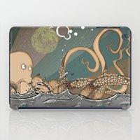 Tireless Octopus iPad Case