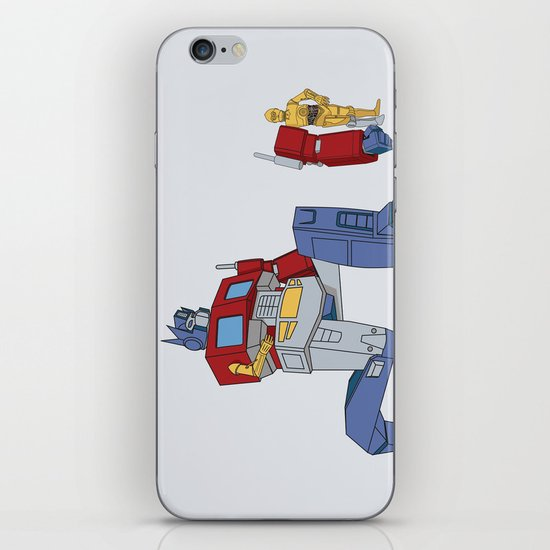 Not the Parts they were looking for... iPhone & iPod Skin