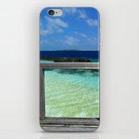 Maldivian Balcony iPhone & iPod Skin