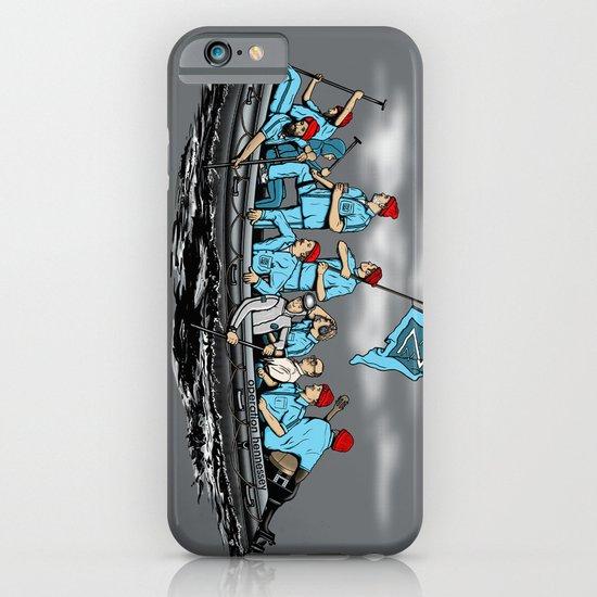 Team Zissou Crossing the Delaware iPhone & iPod Case