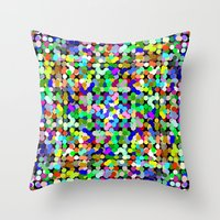 zumbati Throw Pillow