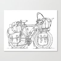 Tourer Canvas Print