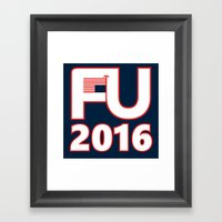 FU2016 Framed Art Print
