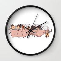 Tiny Dereks In Dreamland Wall Clock
