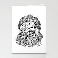 Katrina (white version) Stationery Cards