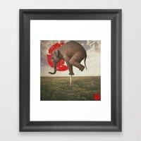 _Alone_ Framed Art Print