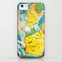 iPhone 5c Cases featuring Unborn Moment by Archan Nair