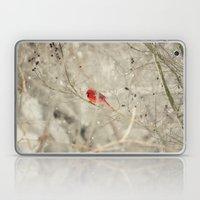 A bird on a winter's day Laptop & iPad Skin