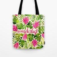 Tropical Wanderlust – … Tote Bag