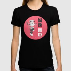 We Come in Pieces  Womens Fitted Tee Black SMALL