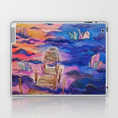 space clouds crystals  Laptop & iPad Skin