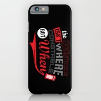 The Question isn't Where, but When! iPhone 6 Slim Case