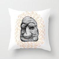 Figurehead Throw Pillow