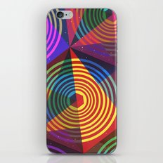 Be a colorful shape iPhone & iPod Skin