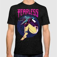 T-shirt featuring FEARLESS by Lokhaan