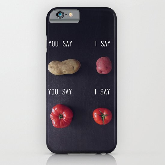 Let's Call the Whole Thing Off iPhone & iPod Case