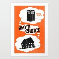 Amy's Choice (7 In A Ser… Art Print