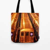 New York Queens Subway 7… Tote Bag