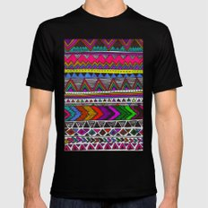 ▲PONCHO ▲ SMALL Black Mens Fitted Tee