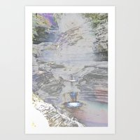 Chromascape 9 (Watkins G… Art Print