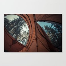 Camp Perspective Canvas Print