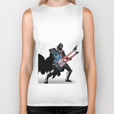 Darth Vader Force Guitar Solo Biker Tank