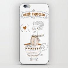 Caffè Espresso iPhone & iPod Skin