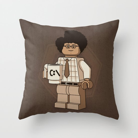 I am a Giddy Goat! Throw Pillow
