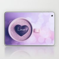 A cup of love Laptop & iPad Skin