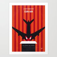 No446 My CON AIR Minimal… Art Print