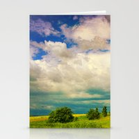 In a Landscape Stationery Cards