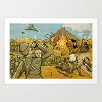 #ISIS #ISIL #IS #WHATEVE… Art Print