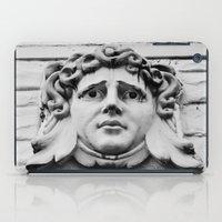 Face of stone iPad Case