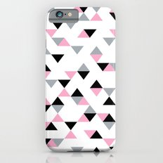Triangles Black and Pink Slim Case iPhone 6s