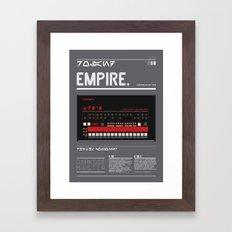 909_EMPIRE MASTER Framed Art Print
