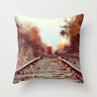 Train Song Throw Pillow